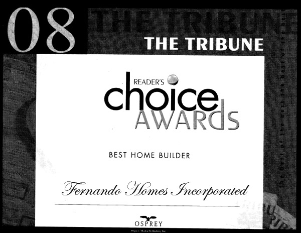 2008 Tribune Award